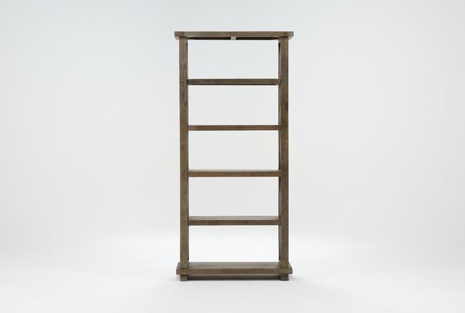 Jaxon Grey 82 Inch Bookcase - 360