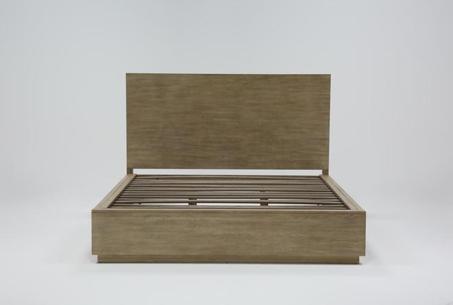 Pierce Natural Queen Panel Bed - 360