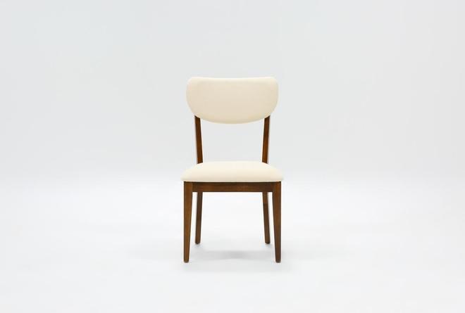 Kara Upholstered Back Side Chair - 360