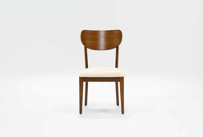 Kara Wood Back Dining Side Chair - 360
