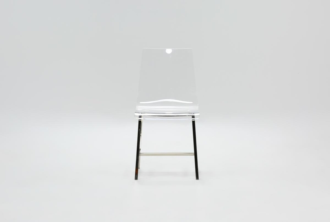 Acrylic Dining Side Chair - 360
