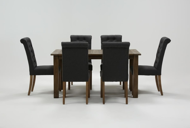 Highlands 7 Piece Dining Set With Lowes Chairs - 360
