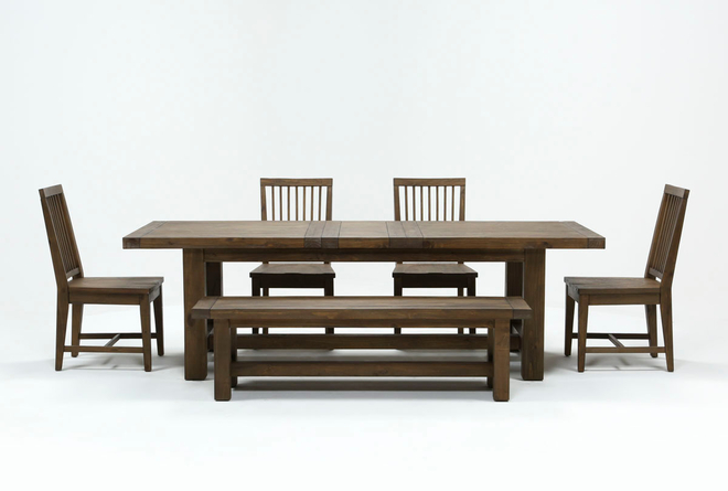 Gables 6 Piece Extension Dining Set - 360