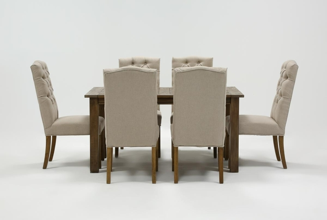 Highlands 7 Piece Dining Set With Biltmore Chairs - 360
