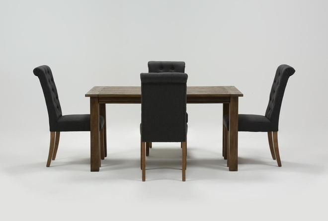 Highlands 5 Piece Dining Set With Lowes Chairs - 360