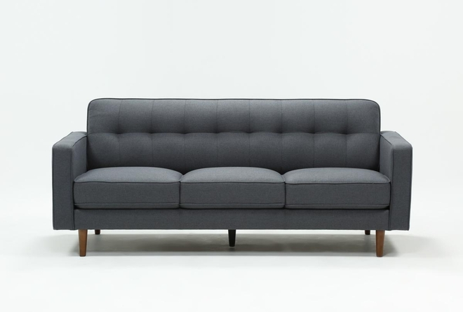 "London Dark Grey 82"" Sofa - 360"