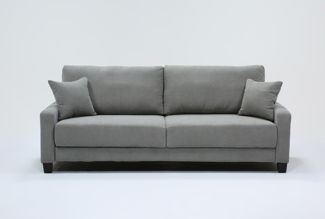 Pascal Grey Queen Convertible Sofa Sleeper - 360