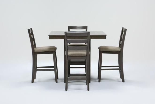 Jameson Grey 5 Piece Counter Set - 360