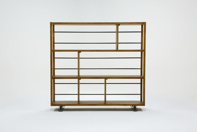 Jaros Room Divider Bookcase - 360