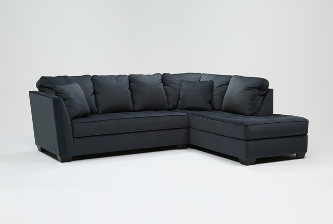 Maven Shadow 2 Piece Sectional with Right Arm Facing Chaise - 360