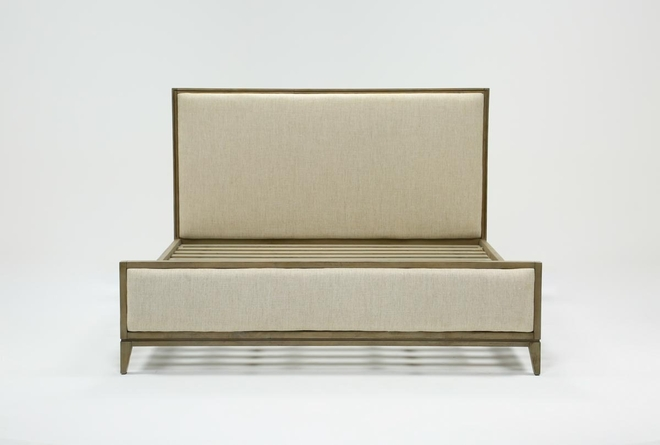 Colette Upholstered Queen Panel Bed - 360