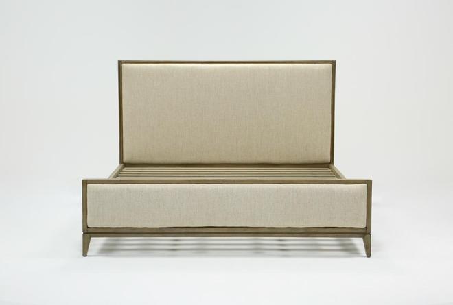 Colette Upholstered Eastern King Panel Bed - 360