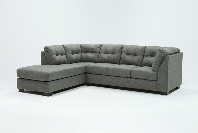 Arrowmask 2 Piece Sectional With Sleeper & Left Arm Facing Chaise - 360