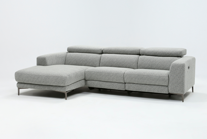 Maddie Grey 2 Piece Sectional With Right Arm Facing Chaise - 360