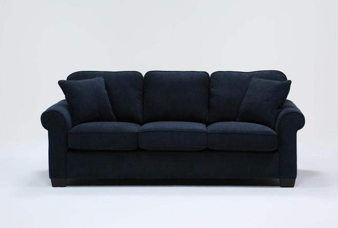 """Margot Denim 89"""" Queen Sleeper Sofa With Innerspring Mattress - 360"""