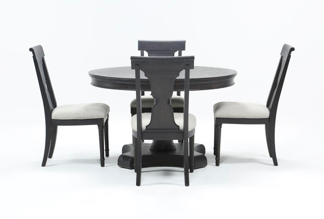 Galerie 5 Piece Round Dining Set With Side Chairs By Nate Berkus And Jeremiah Brent  - 360
