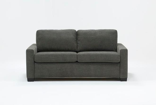 """Mackenzie Charcoal 74"""" Queen Sofa Sleeper - 360"""