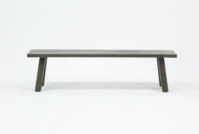 Panama Outdoor Dining Bench - 360