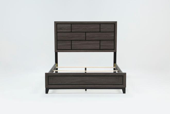 Finley California King Panel Bed - 360