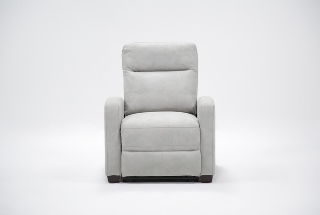 Jarrell Light Grey Recliner - 360