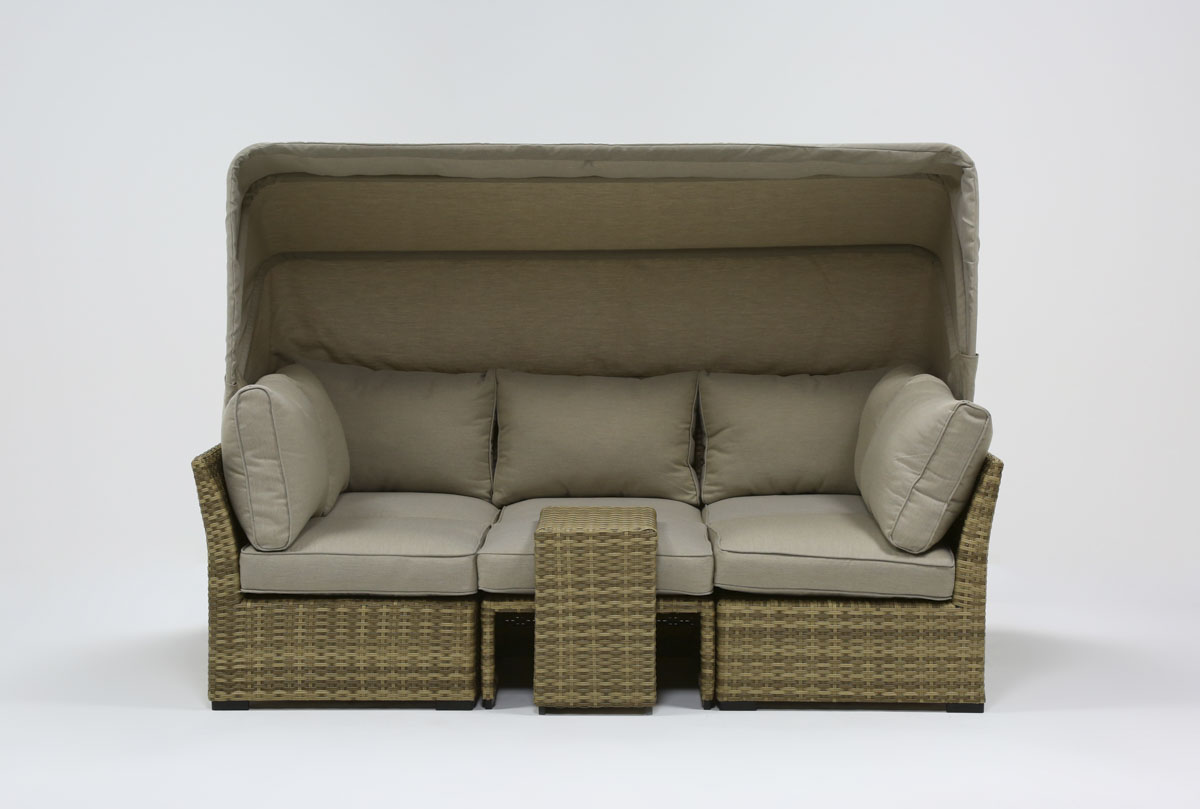Capri Outdoor Daybed | Living Spaces on Living Spaces Outdoor Daybed id=18094