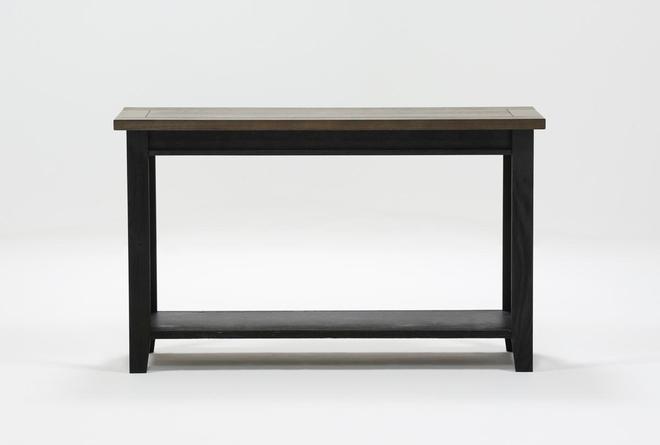 "Dixon Black 51"" Sofa Table - 360"