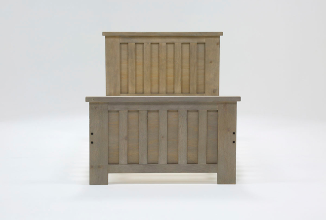 Morgan Twin Panel Bed - 360