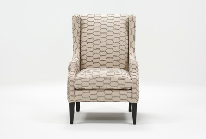 Lewis Steel Accent Chair - 360