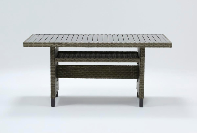 Hayes Outdoor Banquette Dining Table - 360