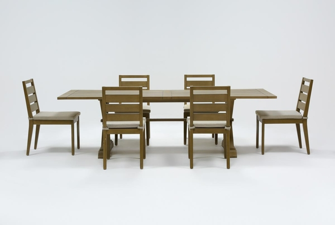 Sebastian Outdoor 7 Piece Dining Set - 360