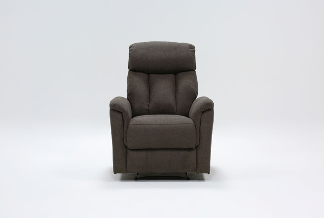 Suzy II Dark Grey Wallaway Recliner - 360