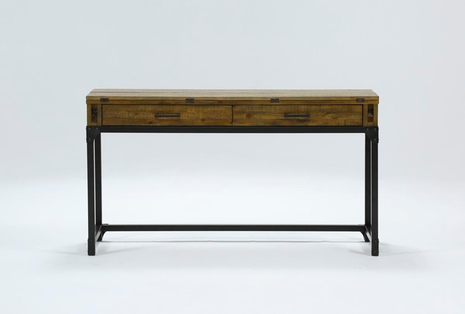 "Foundry Flip-Top 56"" Sofa Table - 360"