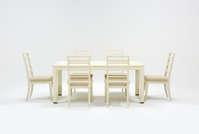 Centre 7 Piece Extension Dining Set With Side Chairs By Nate Berkus And Jeremiah Brent - 360