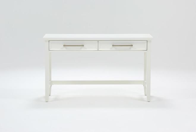 """Dawson White 50"""" Desk - 360"""
