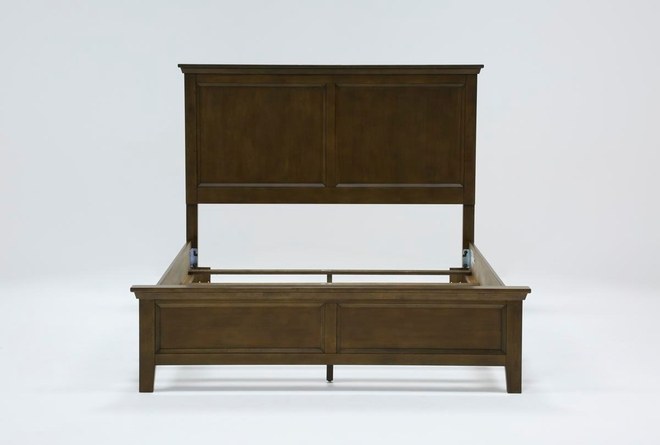 Dawson Chestnut California King Panel Bed - 360