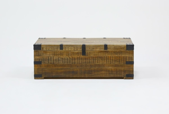 Wally Lift-Top Trunk Coffee Table - 360