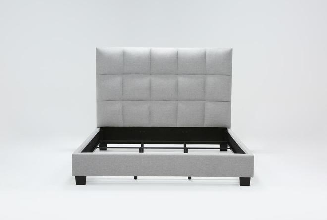 Boswell California King Upholstered Panel Bed - 360