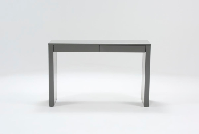 "Vember Grey 48"" Desk - 360"