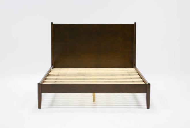Alton Umber Queen Platform Bed - 360