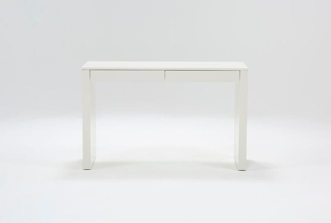"""Vember White 48"""" Desk - 360"""