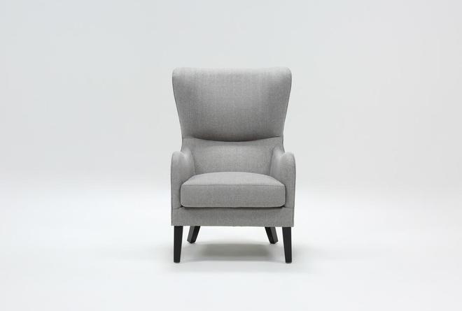 Marisol Light Grey Accent Chair - 360
