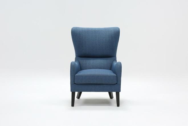 Marisol Indigo Accent Chair - 360