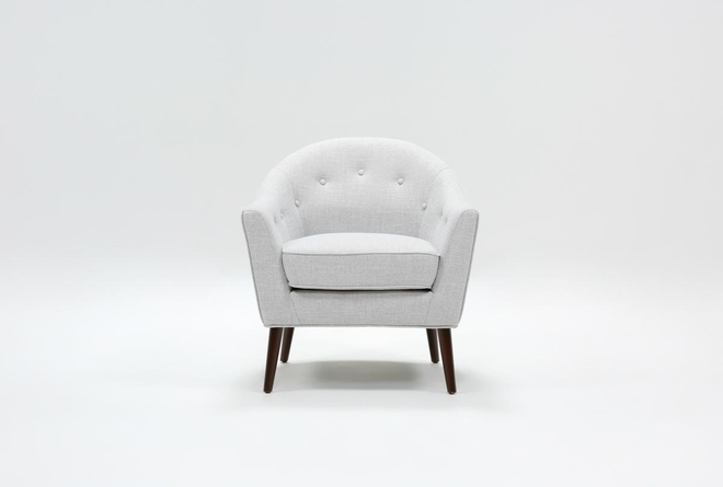 Marina Light Grey Accent Chair - 360
