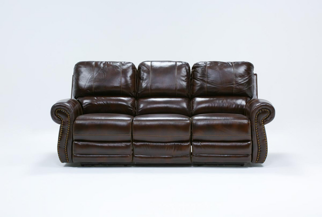 Howell Power Reclining Sofa With Power Headrest - 360