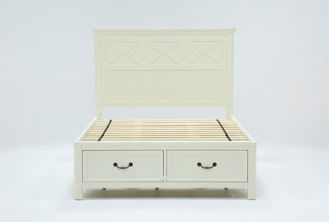 Garland Queen Panel Bed With Storage - 360