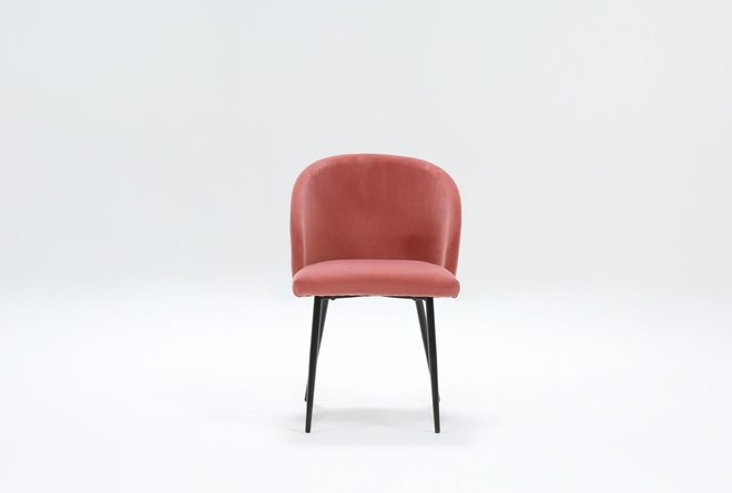 Duffy Pink Dining Side Chair - 360