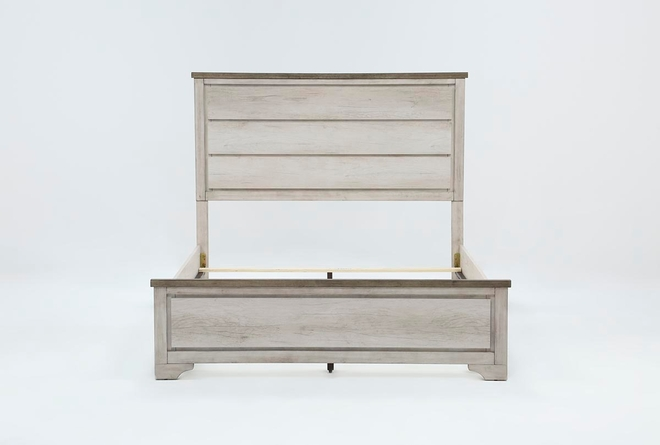 Cassie California King Panel Bed - 360