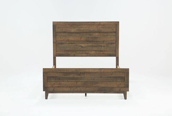 Ranier Eastern King Panel Bed - 360
