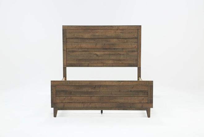 Ranier California King Panel Bed - 360