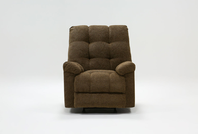 Layden Brown Rocker Recliner - 360